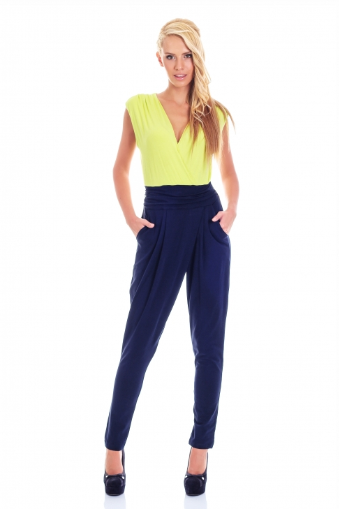 Jumpsuit Two-Colored 006015