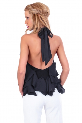Top Drape back