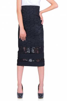 Skirt Black giraffe