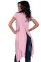 Asymmetric tunic in pink 002123 1