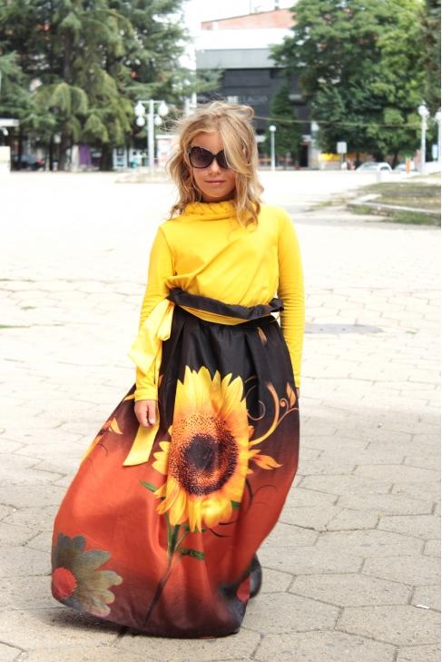 Skirt Sunflower 100216
