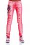 Jeans Pink Skull 005044 5
