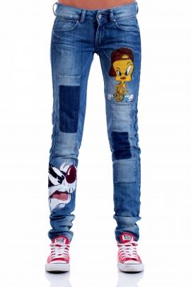 Jeans Silvester & Tweety