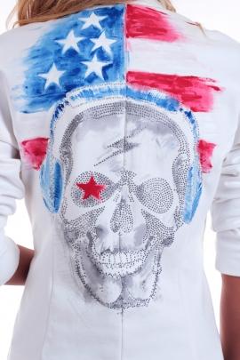 Jacket American skull
