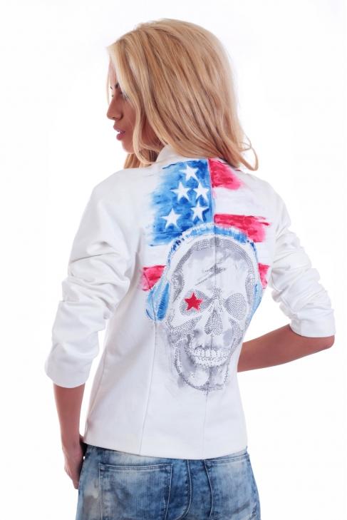 Jacket American skull 008015