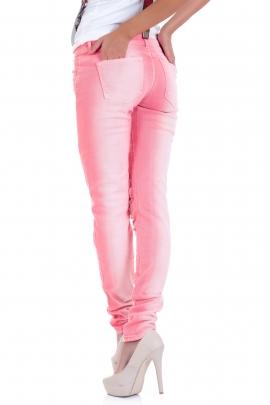 Дънки Pink hole