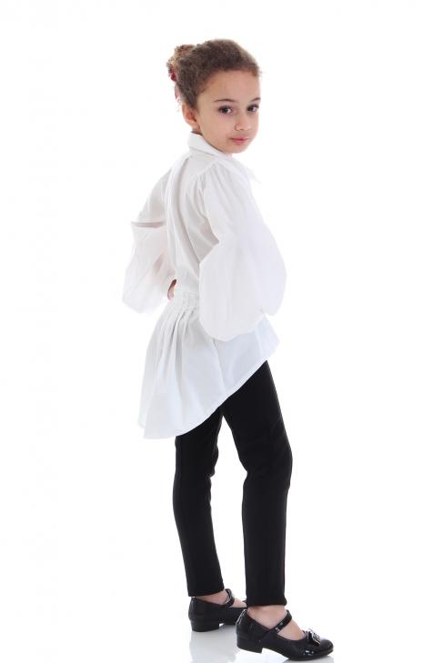 Риза Каролина в бяло 100125