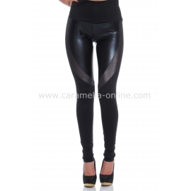 Leather Leggings Lady