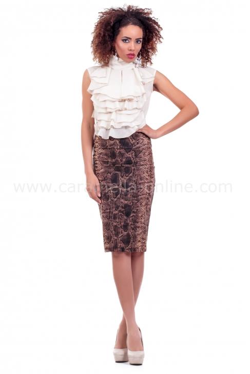 Skirt Snake print 004085