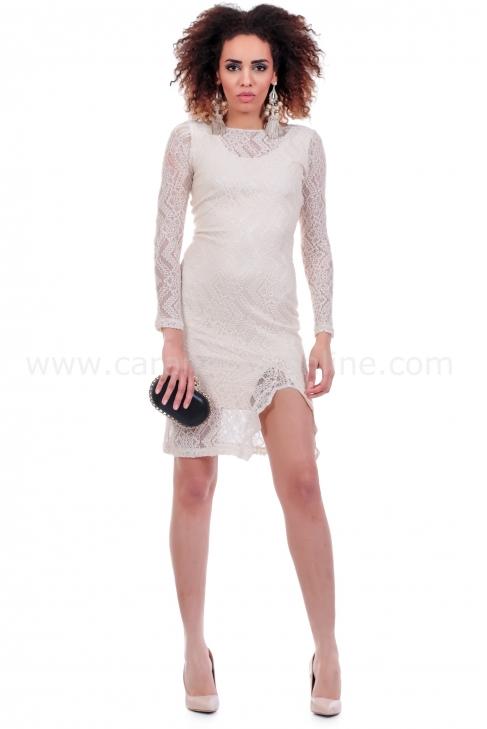 Dress Bright lace 001431