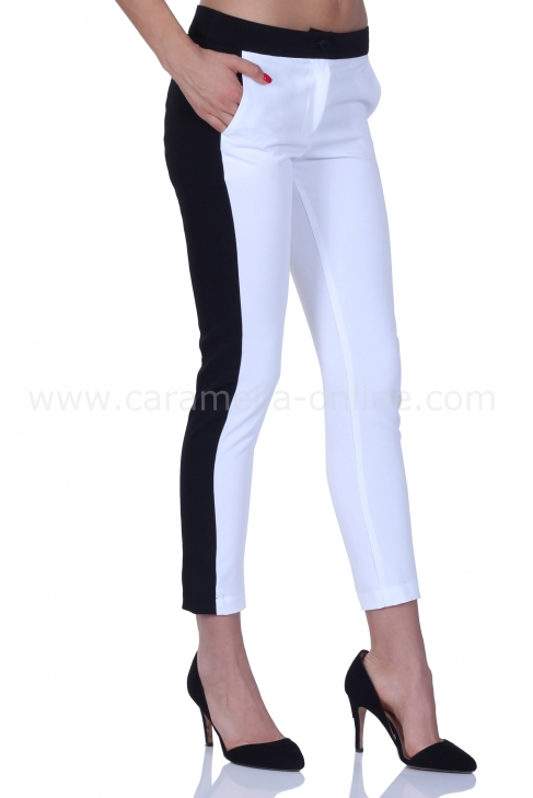 Pants Basic White 050066