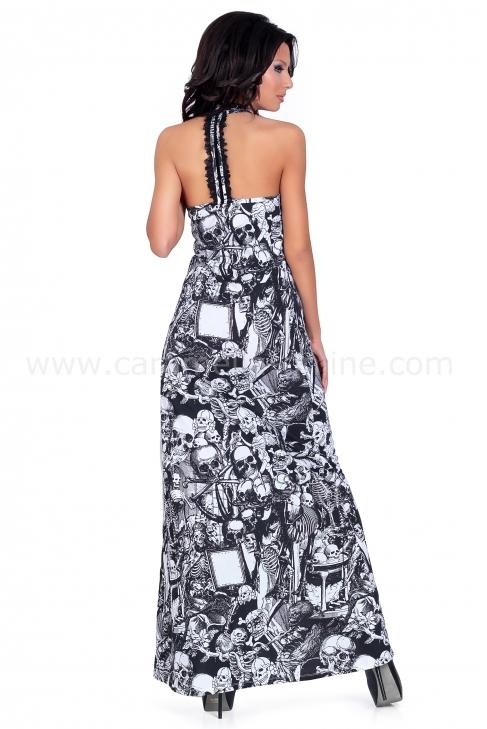 Dress Positive Skull 001457