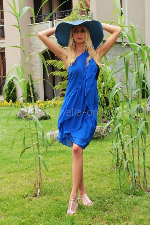 Dress Blue Daris 001498