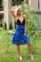 Dress Blue Daris 001498 4