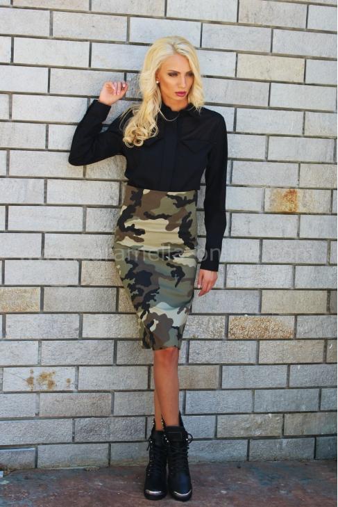 Skirt Gang Military 032002