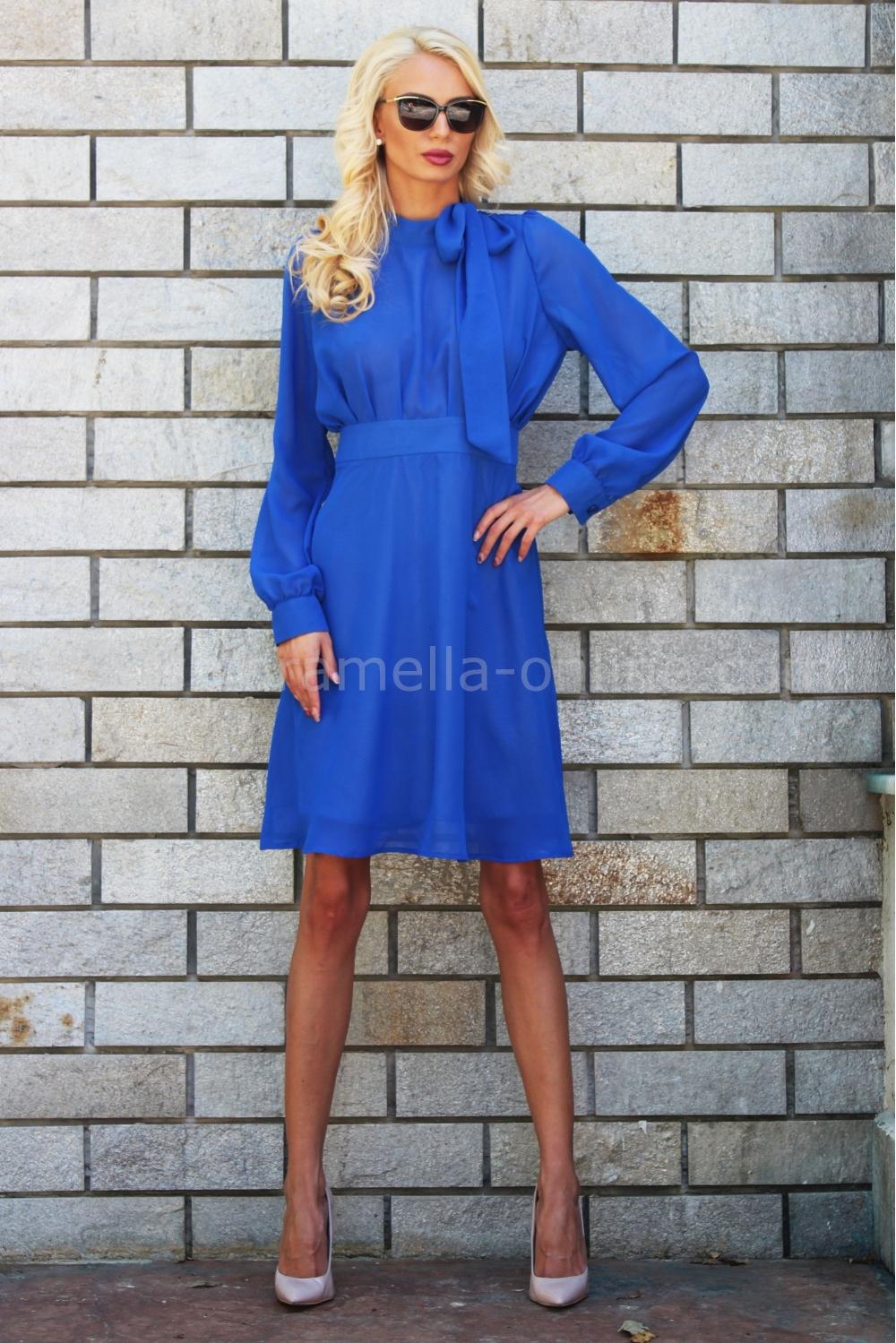 fc6e8ed4fd2 Рокля Blue Dream 012003 на топ цена — Caramella Fashion