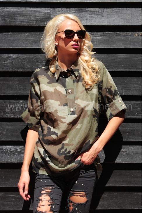 Shirt Military Girls 022004