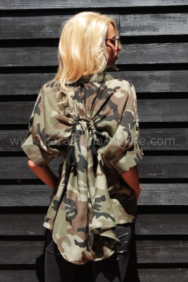 Shirt Military Girls