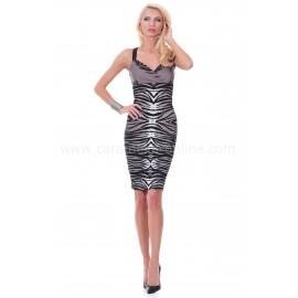 Рокля Zebra Woman