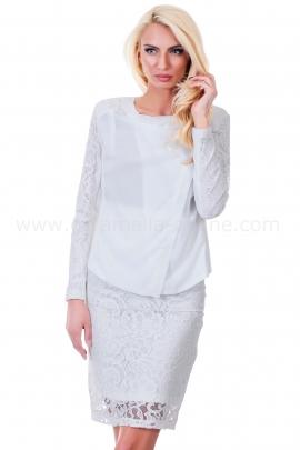 Jacket White Lace