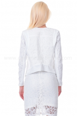 Jacket White Lace