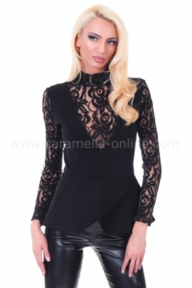 Blouse Black Sand