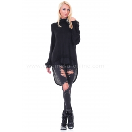 Tunic Black Cashmere
