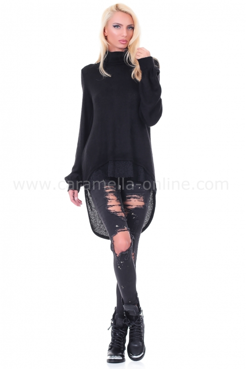 Tunic Black Cashmere 022019