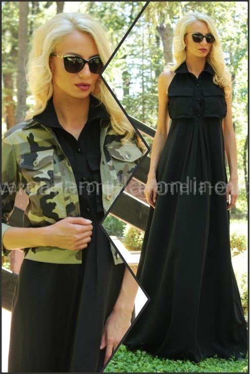 пакет яке Military Style и рокля Black Cat 921
