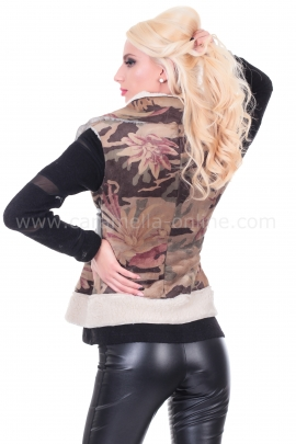 Vest Military Fluff