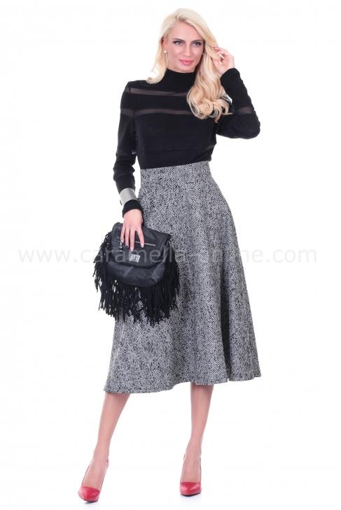 Skirt Gray Melange 032006