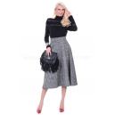 Skirt Gray Melange