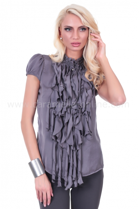 Shirt Gray Lux 022165