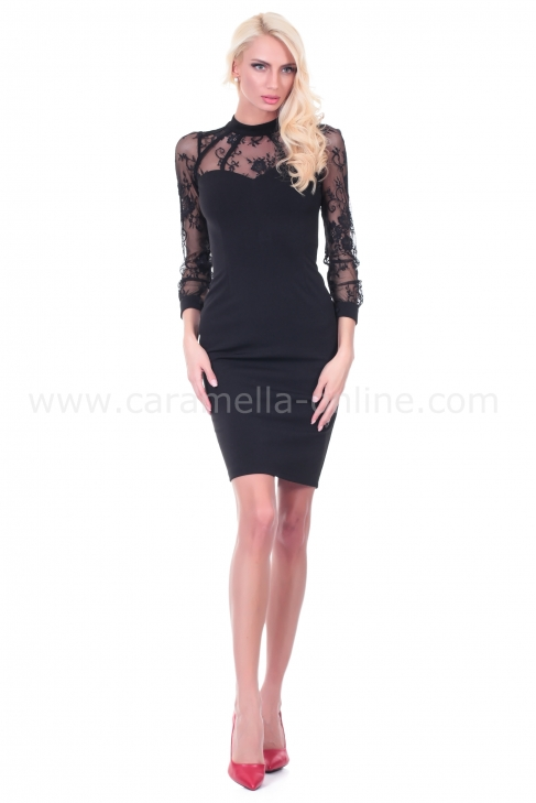 Dress Black Pearl 001426