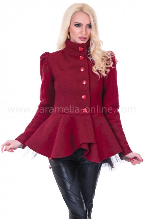 Жилетка-палто AGLAIA RED 052005