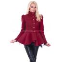 Coat Aglaia Red