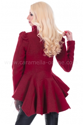 Жилетка-палто AGLAIA RED