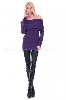 Пуловер Purple Rain