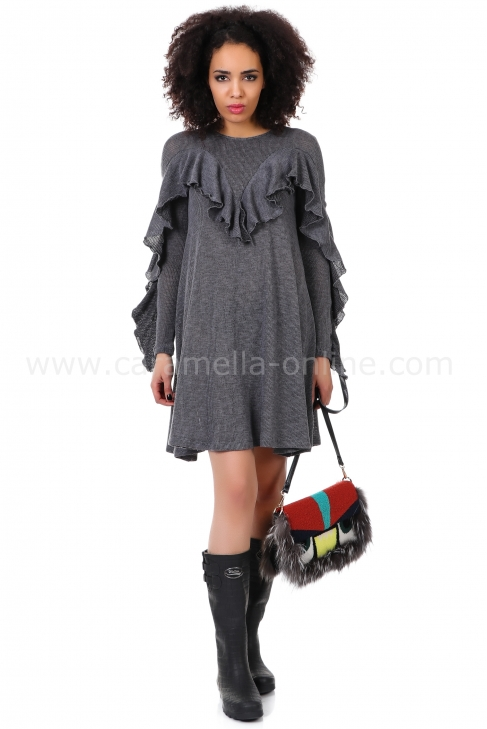 Рокля Gray Basic 012051
