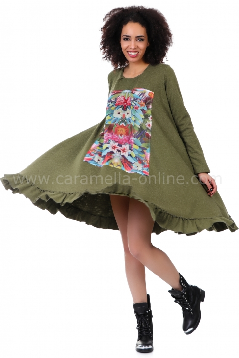 Рокля Flower 012055