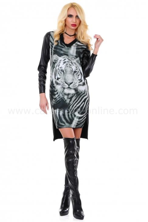 Рокля White Tiger 012068