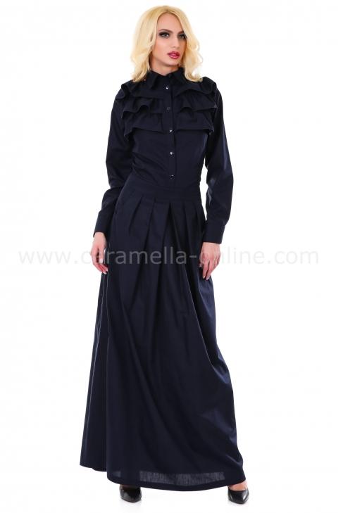 Dress Deep Blue 012070