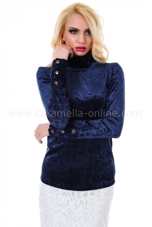 Blouse Blue Balmain 022049