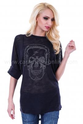 Tunic Blue Skull