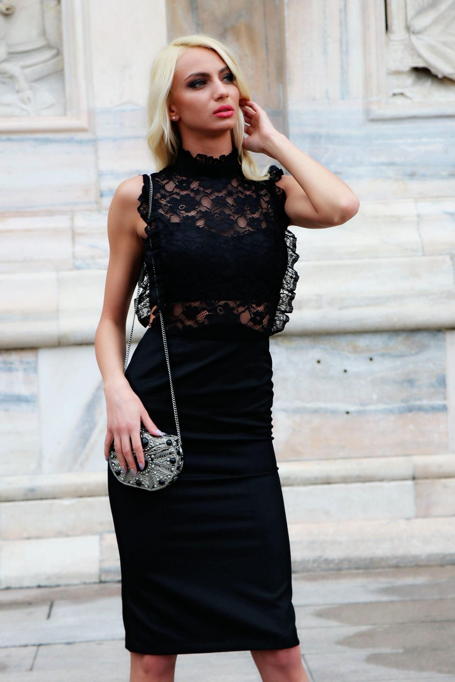 588829432ea Рокля Sexy Lace 012082 на топ цена — Caramella Fashion