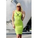 Рокля Green Neon