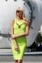 Рокля Green Neon 012088 3