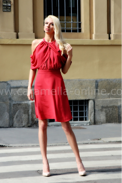 Dress Red Graciela 012090