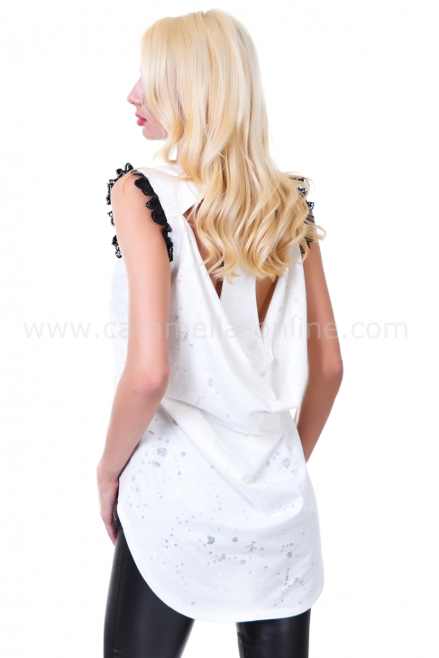 Tunic White Diva 022069
