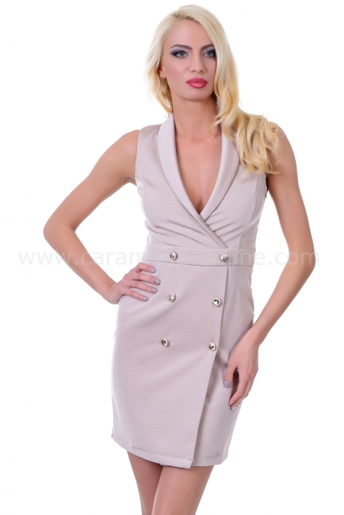 Dress Top Cream 012112